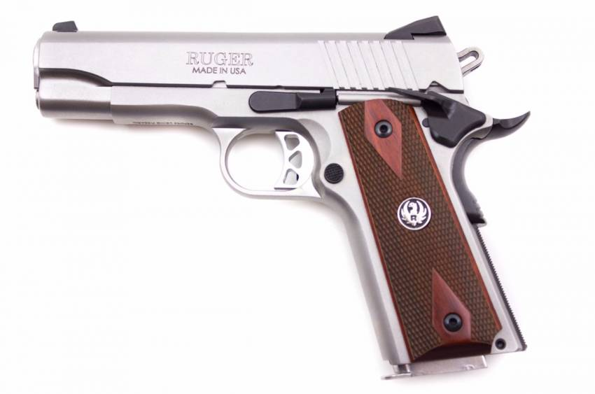 Ruger SR1911 Stainless Compact Kaliber .45 ACP