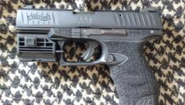 Walther PPQ Tactical .22LR + Laser
