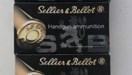 Sellier & Bellot SP .38 158grs, 10,25g