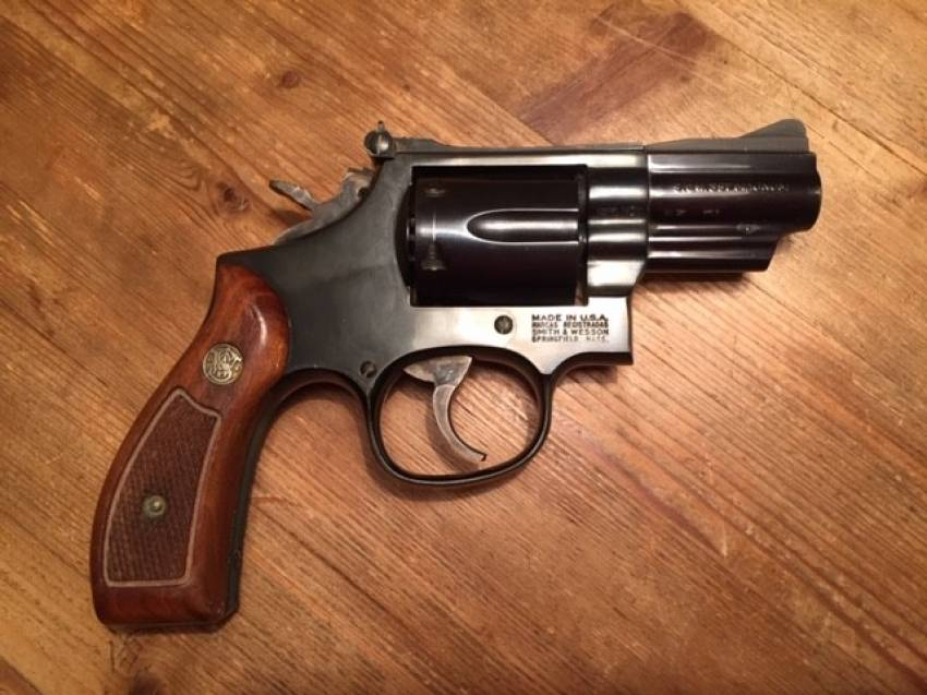 Smith & Wesson, Mod.19, 357 Magnum, 2,5